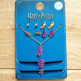 Harry Potter Knight Bus Jewellery / Jewelry Set