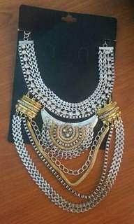 ❤ Silver Gold Necklace