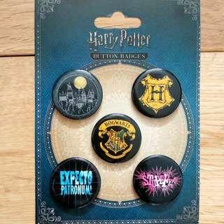 Harry Potter Pin Badges Set of 5