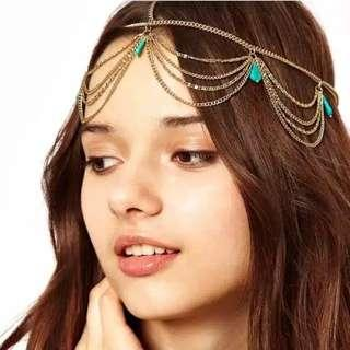 Headband boho headpiece