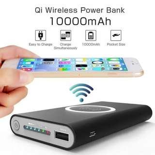 Qi Wireless Powerbank - 10000 mAh