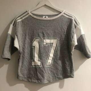 Adidas climalie grey shirt