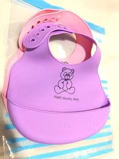 Baby Silicon Bibs