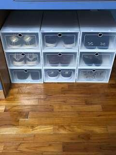 NMD shoebox white stackbox