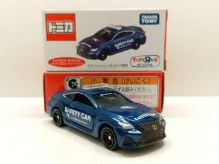 TOMY TOMICA TOYSRUS LEXUS RC F SAFETY CAR FUJIS FEEDWAY玩具反斗城特別版凌志安全車