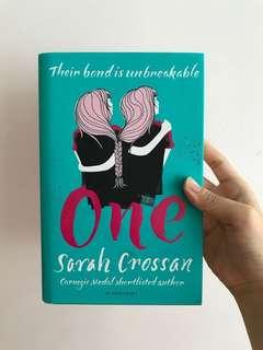 (Hardcover) one by Sarah crossan