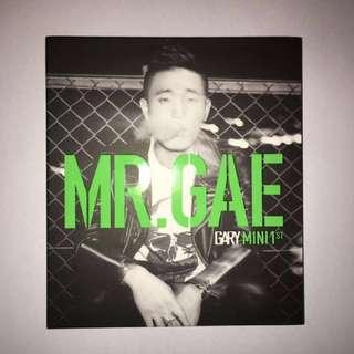 Gary 姜𤋮建 - 1st EP MR. GAE