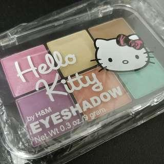 全新Hello Kitty Eyeshadow 六色眼影 by H&M