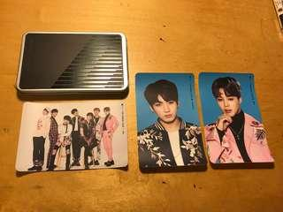 BTS BANGTAN BOYS OFFICIAL STICKER WINGS TOUR KPOP