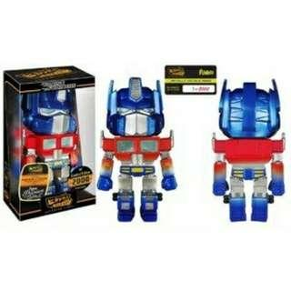 Optimus Prime Metallic Hikari Transformers Funko