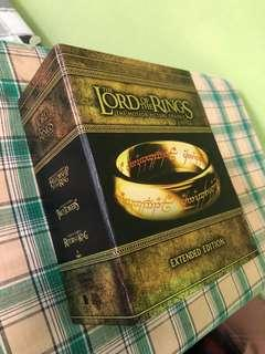 Lord of the Rings Extended Edition LOTR Blu-ray