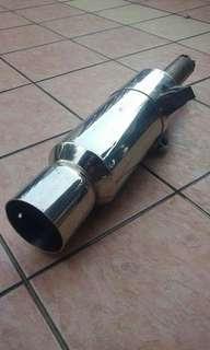 Muffler exhaust fgk power getter