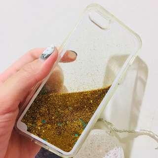 Iphone 5 se case glitter