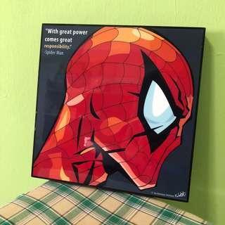 Spider-Man picture frame