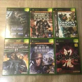 Original First Generation Xbox Games