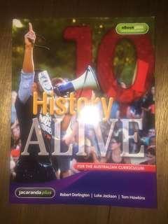 10 history alive book