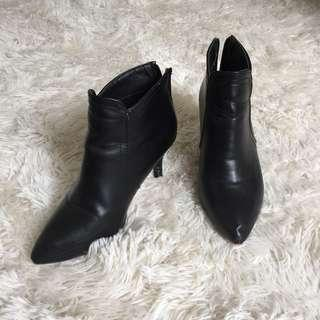 Fashion faux Leather Boots