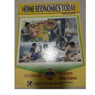 Home economics textbook for sale