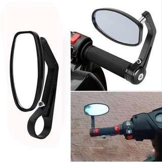 Side Mirror / Motorcycle mirror / Handlebar Grip end Mirror