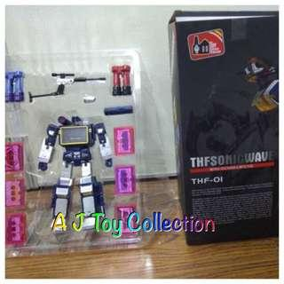 [ In Stock ] Transformers Toy House Factory Masterpiece  MP 13 Soundwave KO