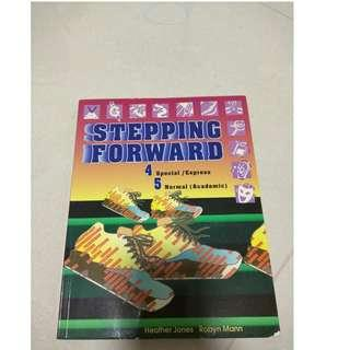 Stepping forward textbook for sale