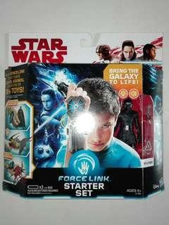 "Star Wars Kylo Ren with Force Link Starter Kit TFA The Force Awakens 3.75"" 3 3/4 inch figure Hasbro Disney TRU"