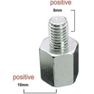 Motorcycle Adapters screw / Mounting clamp / handlebar mirror screw / Adapters Screws