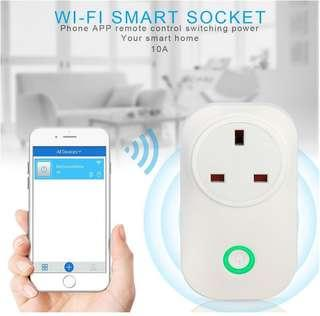S20 WIFI Smart UK Wireless Socket Works with Amazon Alexa