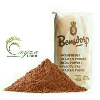 Jual Cocoa Powder / Coklat Bubuk Bensdorp Barry Callebaut France 1 kg