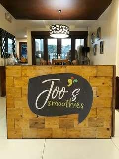 Looking for Service Crew for smoothies stand