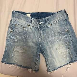 🚚 🐦牛仔五分短褲 / 牛仔短褲