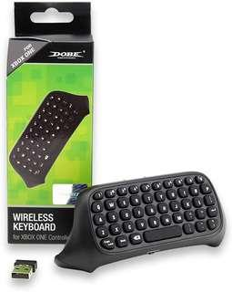 DOBE Mini 2.4G Wireless Chatpad Message Keyboard for Microsoft Xbox One Controller