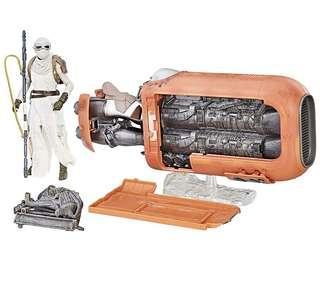 Star Wars - The Black Series Rey's Speeder (訂)