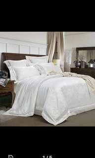 Supreme Quality white Bedding set for wedding