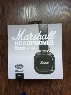 BN Marshall major 2 Bluetooth headphones