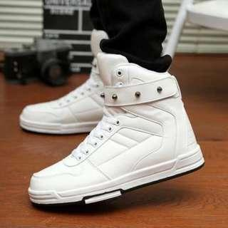 [NEW ][PO] PROMOTION FOR MONTH OF OCT !!! NEW COOL HIGH CUT  SHOES ON SALES NOW!!! size 36-44 PM TO DEAL NOW!!