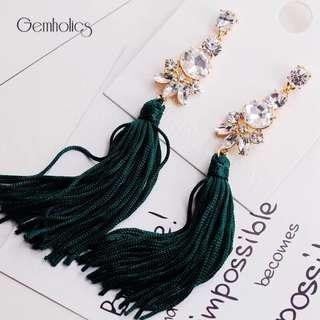 Glam girl statement earring