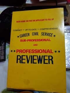 Civil Service Exam Book