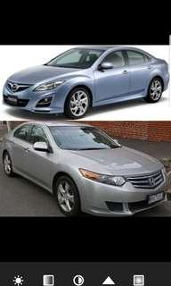 Looking for Mazda 6/3 Honda Accord Civic/ Mini Cooper
