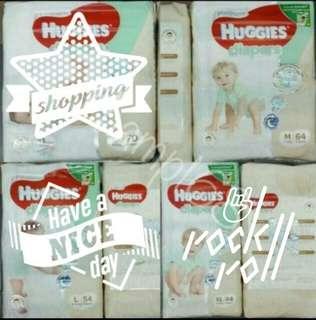 Huggies Platinum Tape Diapers M