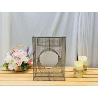 鐵藝設計款花器 花藝婚慶婚禮裝飾 攝影櫥窗道具擺件