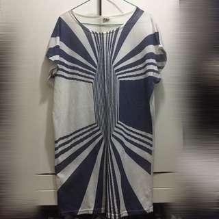 幾何圖案連身裙
