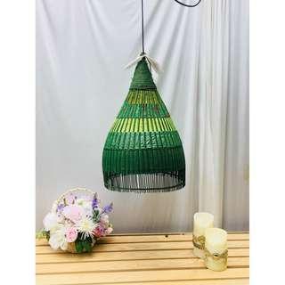 泰式民族風燈罩(綠)