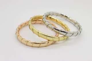Stainless Steel Women's Cuff Bangle Bracelet RJ0072