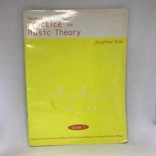 Revised Practice in Music Theory By Josephine Koh ABRSM