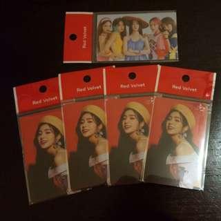 [WTS] Red Velvet Cashbee Transportation Card