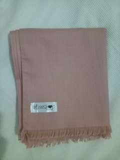 Pashmina Cotton Ima Elzeeshop Hijab warna Salem