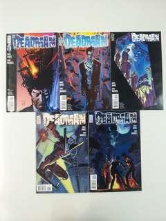 Deadman Deadman Walking (2007 DC) Comics Set
