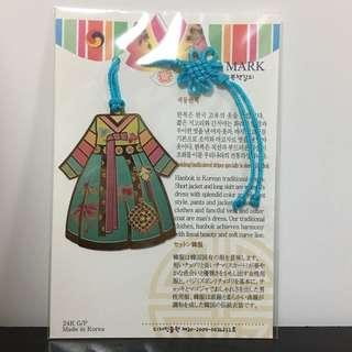 韓服書簽  Korean style bookmark
