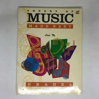Grade 2 Piano Theory of Music Made Easy by Lina Ng